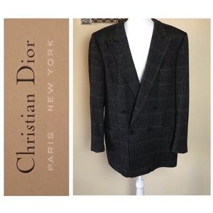 Authentic Vintage Christian Dior Monsieur Blazer